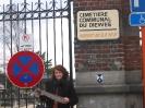 Cimetière communal du Dieweg à Uccle, Bruxelles - l'entrée