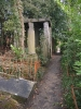 Brüssel-Der Friedhof am Dieweg in Uccle