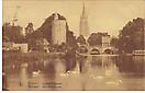 Brügge-Bilder von historischem Interesse