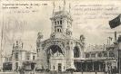 Exposition Universelle de Liège, 1905, Entrée principale - Monsieur Wilhelm Duckstein, Schönebeck/Elbe
