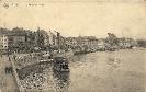 Liège, Quai de la Batte, 1918 - an Frau Lina Albert, Brockau bei Netschkau
