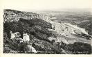 Panorama mit Kloster St. Preobrajenie, Bulgarien, historische Ansichtskarte