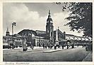 Hauptbahnhof, Hamburg, historische Ansichtskarte