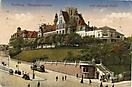 Navigationsschule und Wiezels Hotel, Hamburg, historische Ansichtskarte, 1911