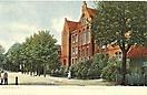 Eissendorfer-Strasse mit Real Gymnasium, Harburg-Hamburg - historische Ansichtskarte 1903