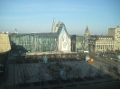 Augustusplatz, Leipzig - Blick auf die Universitätsaula und Neubau der ehemaligen Paulinerkirche