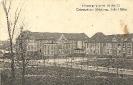 Festungslazarett III, Metz, chirurgische Abteilung, linke Hälfte, historische Ansichtskarte