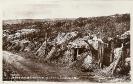 Verdun, carte postale historique, emplacement de batteries surplomante le Ravin de la Mort