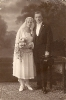 Historische Fotografien-Brautpaare