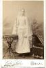 Historische Fotografie, Mädchen in Kommunionskleid, Gebrüder Siebe in Breslau, Neue Taschenstr. 1b