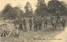 Armee belge, quelques officiers d'Artillerie, Feldpostkarte 1915
