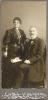 Porträt eines Ehepaares, Atelier Adolf Walter, Schweidnitz, Feldstr. 2 - Historische Fotografie