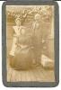 4-Historische Fotografie-Porträt eines Ehepaares und ein Dienstmädchen-1913
