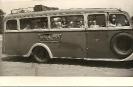 Reisebus von Austrobus, Wien, historische Fotografie