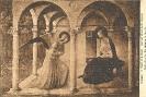 Florenz (Firenze) Museo di San Marco, Annunziazione della Vergine, Beato Angelico (Fra Giovanni da Fiesole), cartolina storica