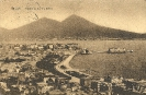 Panorama da Via Tasso, Napoli, cartolina storica 1913 - Neapel, historische Ansichtskarte, 1913