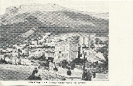 Condamine, Tête de Chien, côte d'Azur, carte postale historique