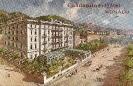 Hotel Condamine, Monaco, carte postale historique