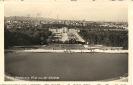 Schönbrunn, Blick von der Gloriette, Wien, historische Ansichtskarte 1939