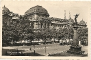 Universität, Wien, historische Ansichtskarte 1940