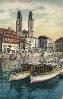 Zürich.Historische Ansichtskarten