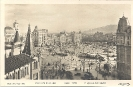 Barcelona, Plaza de Cataluna, abril 1928,historische Ansichtskarte