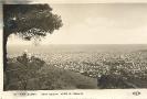 Barcelona, vista general desde el Tibidabo, historische Ansichtskarte, 1928