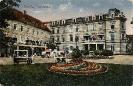 Herrenhaus, Teplitz (Teplice), historische Ansichtskarte, 1922