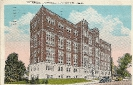 Bethesda Hospital, Cincinnati, Ohio, historic Postcard 1928