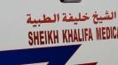 Ambulanz Abu Dhabi, Vereinigte Arabische Emirate, Okt. 2015